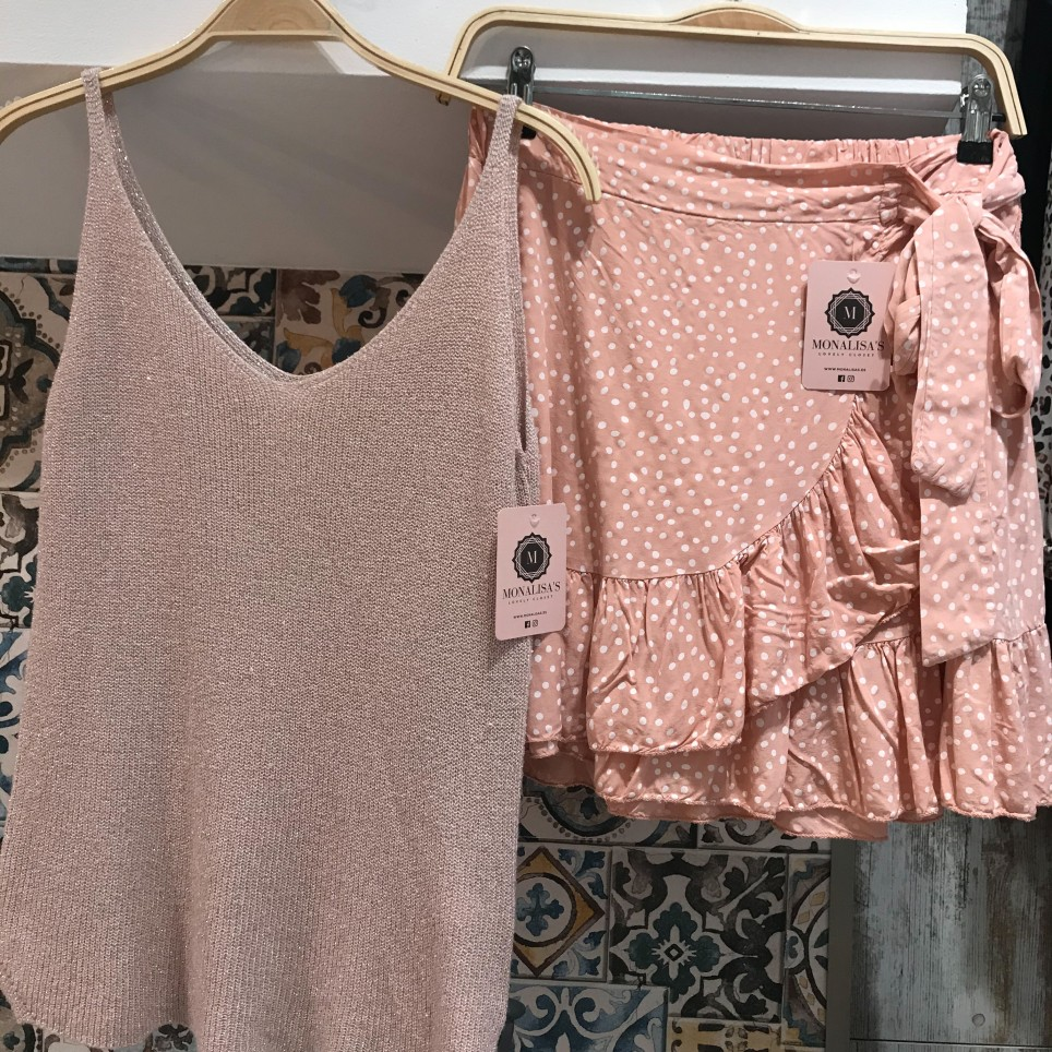 Top Lurex - Rosa