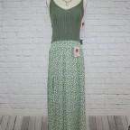 Falda Flores Obertura - Caqui