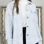 Sobrecamisa Tweed - Azul
