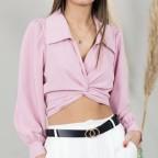Blusa Laura Lazada - Rosa