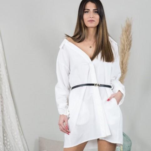 Vestido Kim - Blanco