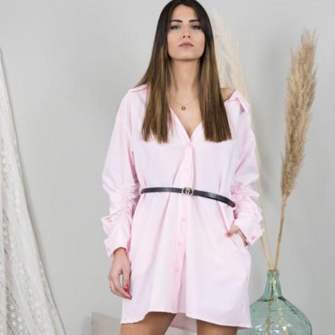 Vestido Kim - Rosa