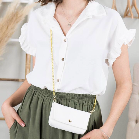 Blusa Emma - Blanco