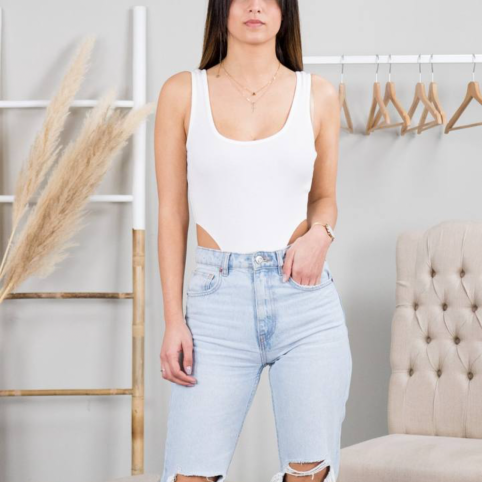 Body Canale Cropped - Blanco