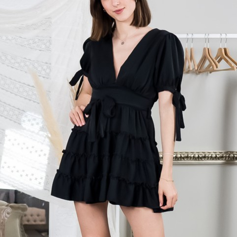 Vestido Melyssa - Negro