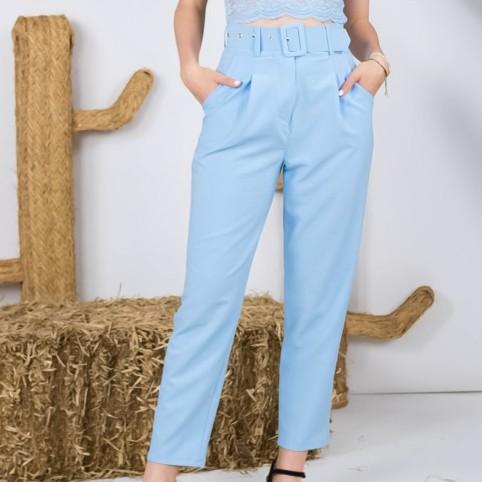 Pantalón Traje Carlota - Azul