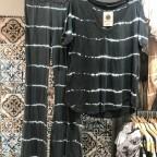 Camiseta Tie Dye - Antracita